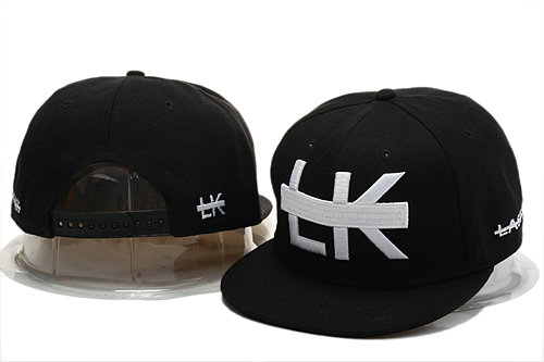 Last Kings Black Snapback Hat YS 1 0721